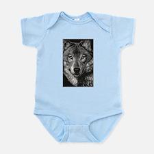 Wolf Sketch Infant Bodysuit