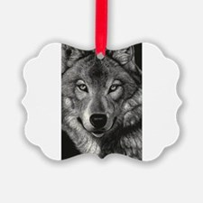 Wolf Sketch Ornament