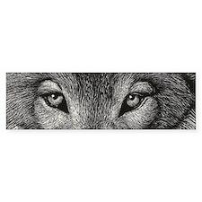 Wolf Sketch Car Sticker