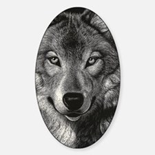 Wolf Sketch Decal