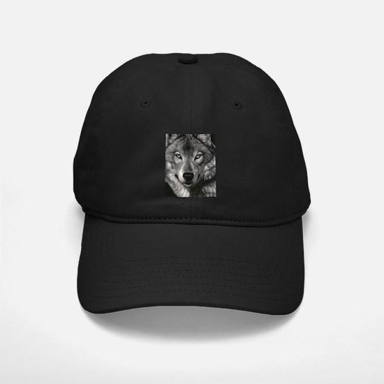Wolf Sketch Baseball Hat