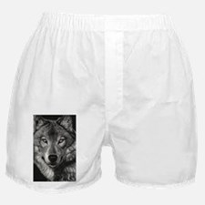 Wolf Sketch Boxer Shorts