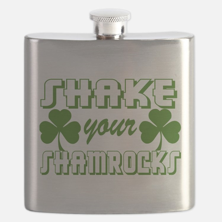 St. Patrick's Day Drinking Party Flask