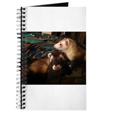 Cute Baby ferret Journal