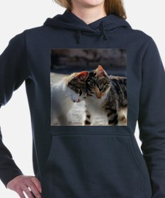 Cat_2015_0103 Women's Hooded Sweatshirt