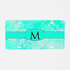 Sea Glass Memories Aluminum License Plate