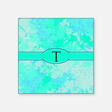 """Sea Glass Memories Square Sticker 3"""" x 3"""""""