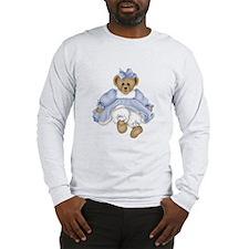 BEAR - BLUE DRESS Long Sleeve T-Shirt