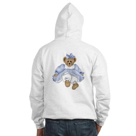 BEAR - BLUE DRESS Hooded Sweatshirt