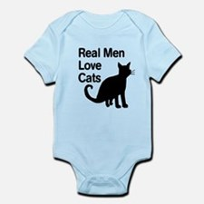 Real Men Love Cats Body Suit
