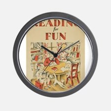 1935 Children's Book Week Wall Clock