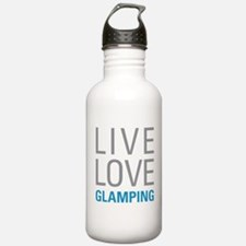 Live Love Glamping Water Bottle