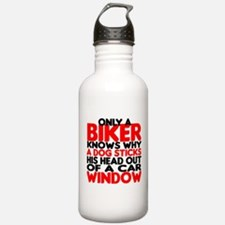 Only a Biker Knows Water Bottle