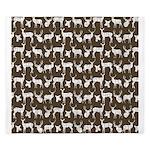 Deer on Brown King Duvet