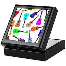 Rainbow Ukuleles Keepsake Box