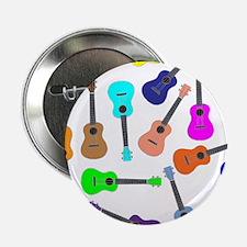 """Rainbow Ukuleles 2.25"""" Button (10 pack)"""