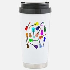 Rainbow Ukuleles Travel Mug