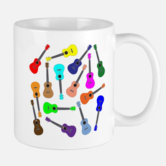 Rainbow Ukuleles Mugs