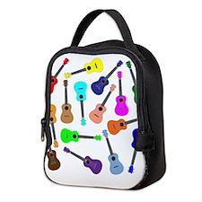 Rainbow Ukuleles Neoprene Lunch Bag