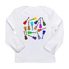 Rainbow Ukuleles Long Sleeve T-Shirt