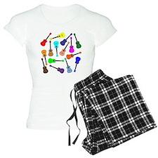 Rainbow Ukuleles Pajamas