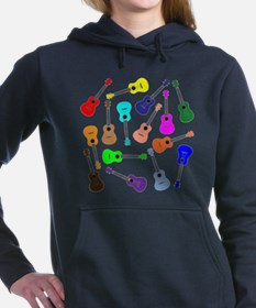 Rainbow Ukuleles Women's Hooded Sweatshirt