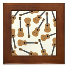 Ukuleles Ukes Framed Tile