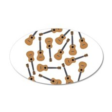 Ukuleles Ukes Wall Decal