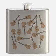 Ukuleles Ukes Flask