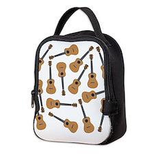 Ukuleles Ukes Neoprene Lunch Bag