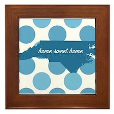Cute Home sweet home Framed Tile