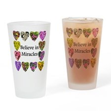INSPIRING MIRACLES Drinking Glass