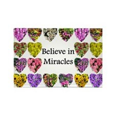 INSPIRING MIRACLES Rectangle Magnet