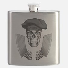 Butcher Skull Flask