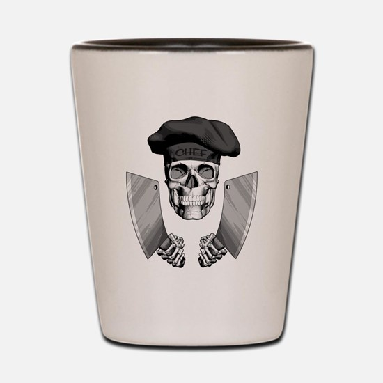 Butcher Skull Shot Glass