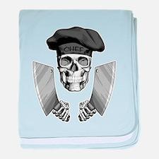 Butcher Skull baby blanket