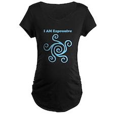 I AM Expressive Maternity T-Shirt