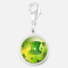 St. Patrick's Day, green hat Charms