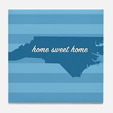 Cute Home sweet home Tile Coaster