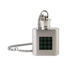 Tartan - Fife dist. Flask Necklace