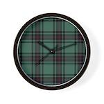 Tartan - Fife dist. Wall Clock