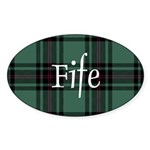 Tartan - Fife dist. Sticker (Oval 50 pk)
