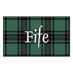 Tartan - Fife dist. Sticker (Rectangle 50 pk)