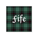 Tartan - Fife dist. Square Sticker 3