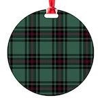Tartan - Fife dist. Round Ornament