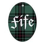 Tartan - Fife dist. Ornament (Oval)