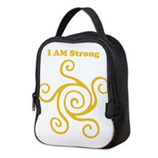 I AM Strong Neoprene Lunch Bag