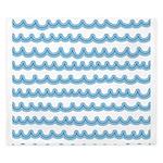 Whimsical Ocean Waves King Duvet