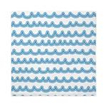 Whimsical Ocean Waves Queen Duvet
