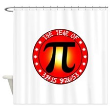 Year of Pi 3/14/15 9:26:53 Shower Curtain
